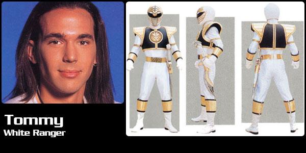 Tommy Oliver, White Power Ranger | Power Rangers Central