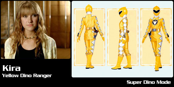 kira ford-yellow dino ranger awesome pretty chip funny