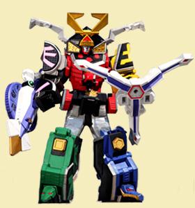 Samurai Megazord Power Rangers Samurai Power Rangers