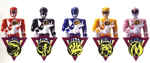 Henshin Grid List Of Mighty Morphin Power Rangers Blue And Black